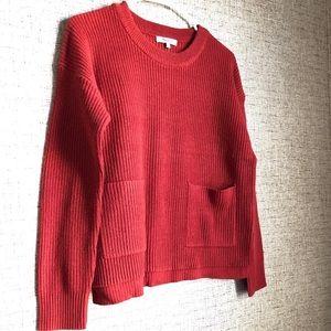 Madewell Patch Pocket Crewneck Sweater NWT